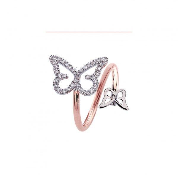 Anello Butterfly Spring Contrariè