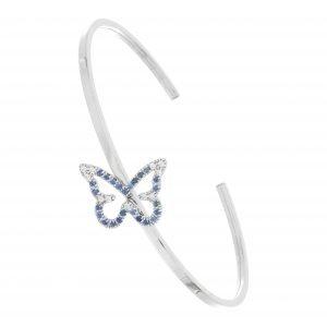 bracciale butterfly sapphire